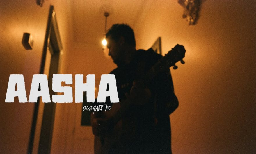 aasha lyrics and chords by sushant kc