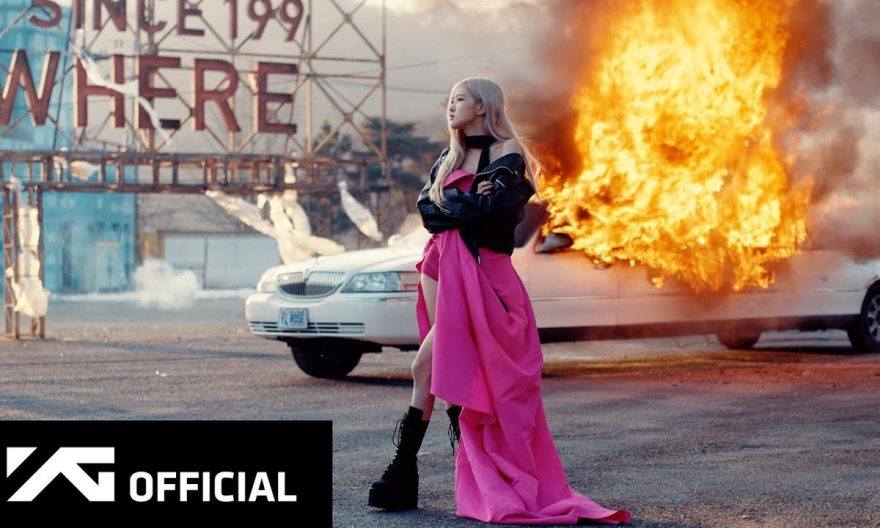 on the ground lyrics and chords by rose(blackpink)
