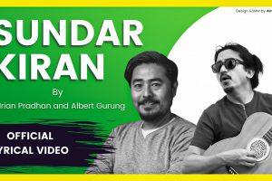 sundar kiran lyrics and chords by Adrian Pradhan & Albert Gurung